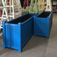 Trough Planter, Accoya Wooden Garden Planters Painted any Colour